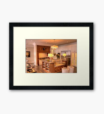 Heart of the Home 3 Framed Print