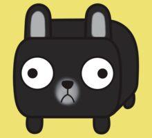 French Bulldog Loaf - Black Frenchie One Piece - Short Sleeve