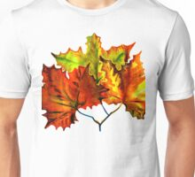 Earth Autumn Leaves Unisex T-Shirt