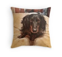 Chili Dog Throw Pillow