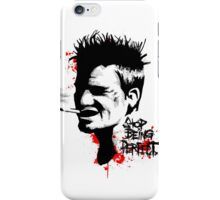 Stop Being Perfect iPhone Case/Skin