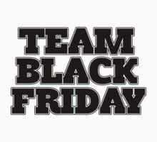 Team Black Friday Kids Clothes