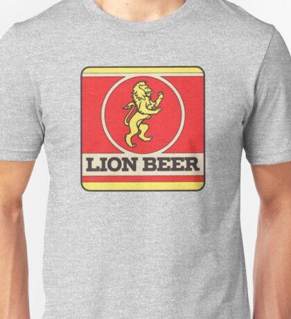 Lion Beer Coaster Unisex T-Shirt