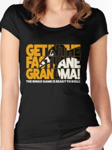 Get In the Fast Lane Women's Fitted Scoop T-Shirt