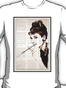 old book drawing famous people cal T-Shirt