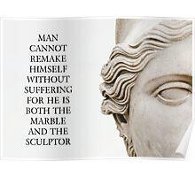 Marble And The Sculptor Poster