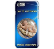 Joy To The World Merry Christmas iPhone Case/Skin
