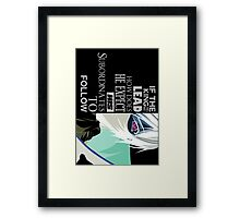 The Zero Theory Framed Print