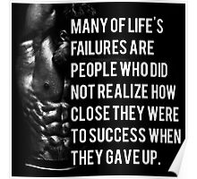 Many Of Life's Failures Poster