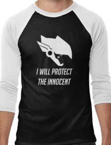 Pharah - I Will Protect (Overwatch) Men's Baseball ¾ T-Shirt