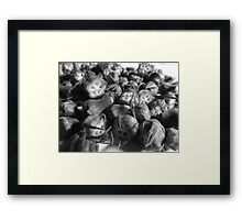Play With Your Food - Bamia Tops Framed Print