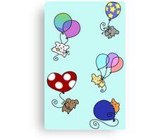 Balloon Mice Canvas Print