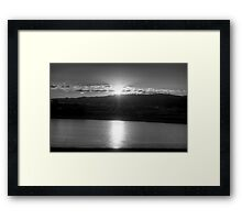 Xray reveal Framed Print