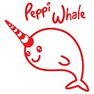 Peppi Whale by PepomintNarwhal