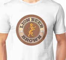 Lion Brown Beer Coaster Unisex T-Shirt