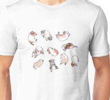 Tumbling Guinea Pigs Unisex T-Shirt