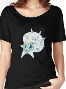 Omastar Popmuerto | Pokemon & Day of The Dead Mashup Women's Relaxed Fit T-Shirt