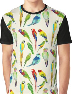 Parrots Graphic T-Shirt