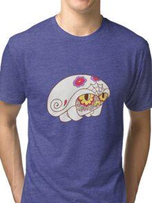 Kabuto Popmuerto | Pokemon & Day of The Dead Mashup Tri-blend T-Shirt