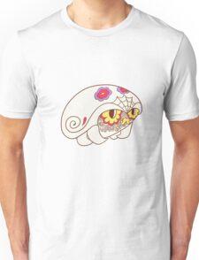 Kabuto Popmuerto | Pokemon & Day of The Dead Mashup Unisex T-Shirt
