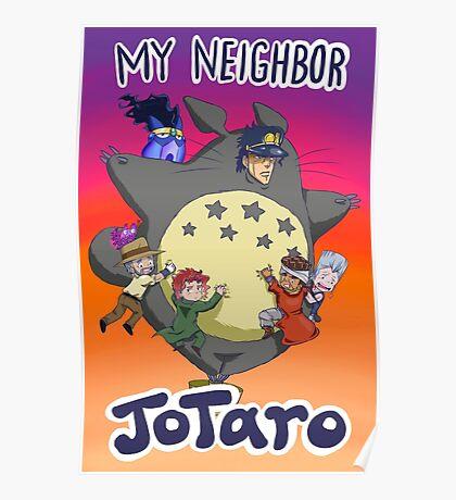 Jojo's Bizarre Adventure Jotaro Poster