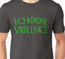 Game of Thrones - I Choose Violence Wildfire Unisex T-Shirt