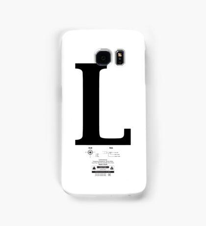 Left & Right Series `L´ Samsung Galaxy Case/Skin