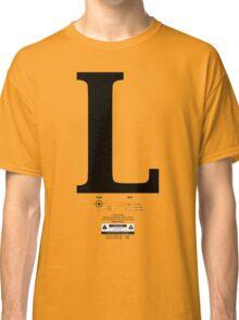 Left & Right Series `L´ Classic T-Shirt