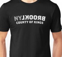 BROOKLYN NY - County of Kings (gray, white) Unisex T-Shirt