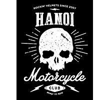 Hanoi Motorcycle Club | Black Photographic Print