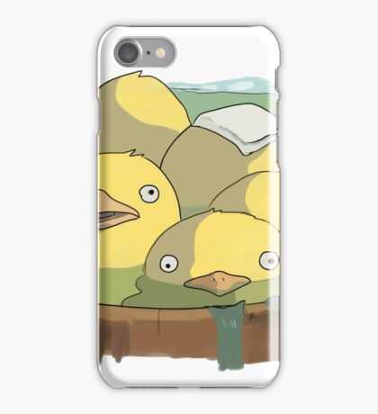 Spirited Away Duck Bath iPhone Case/Skin