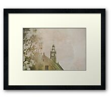 Clock Tower Framed Print