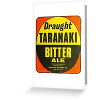 Taranaki Bitter Coaster Greeting Card