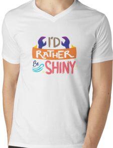 So Shiny Mens V-Neck T-Shirt