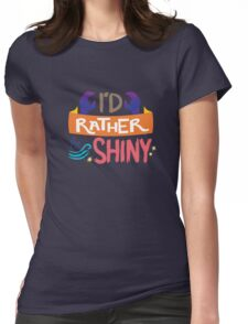 So Shiny Womens Fitted T-Shirt