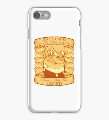 Kitty Biscuits - White/Other iPhone Case/Skin