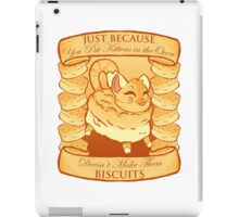 Kitty Biscuits - White/Other iPad Case/Skin