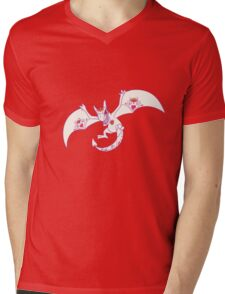 Aerodactyl Popmuerto | Pokemon & Day of The Dead Mashup Mens V-Neck T-Shirt