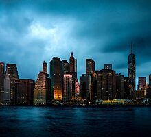 Manhattan At Dawn by Chris Lord