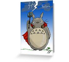 Thortoro Greeting Card