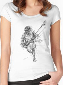Long-Pole Women's Fitted Scoop T-Shirt