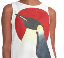 Red Sun Emperor Penguin Contrast Tank