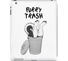 Furry Trash - Black Husky/Malamute iPad Case/Skin