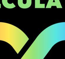 BORN CALCULATOR @WeCO.online Sticker