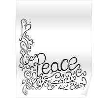 Peace: Hand Lettering Poster