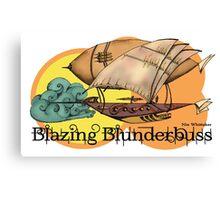 Blazing Blunderbuss version 2 Canvas Print
