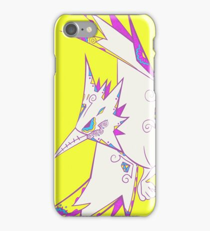 Zapdos Popmuerto | Pokemon & Day of The Dead Mashup iPhone Case/Skin