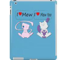 I Heart Mew iPad Case/Skin