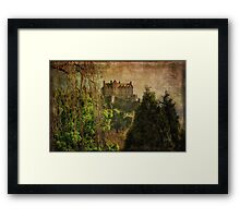 Hogwarts Edinburgh Castle Edinburgh Scotland Framed Print