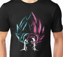 goku god and goku rose Unisex T-Shirt